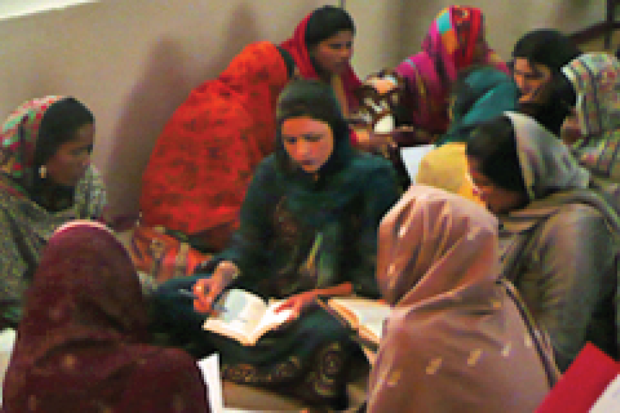 group of women at a Bible study